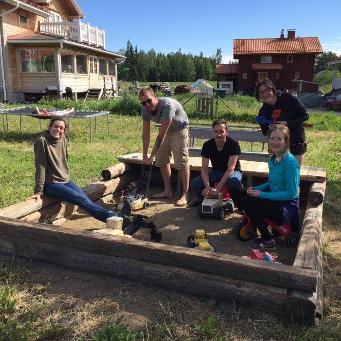 creating a sandbox